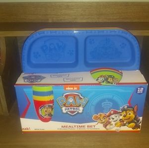 New Paw Patrol Mealtime Set  - Dishes